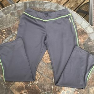 Girls gray Reebok workout pants